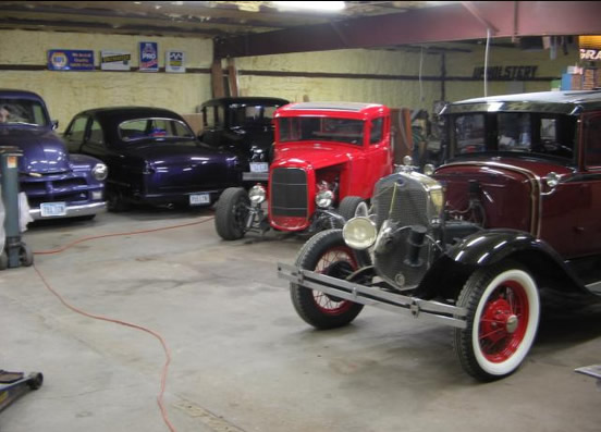rusty car restoration